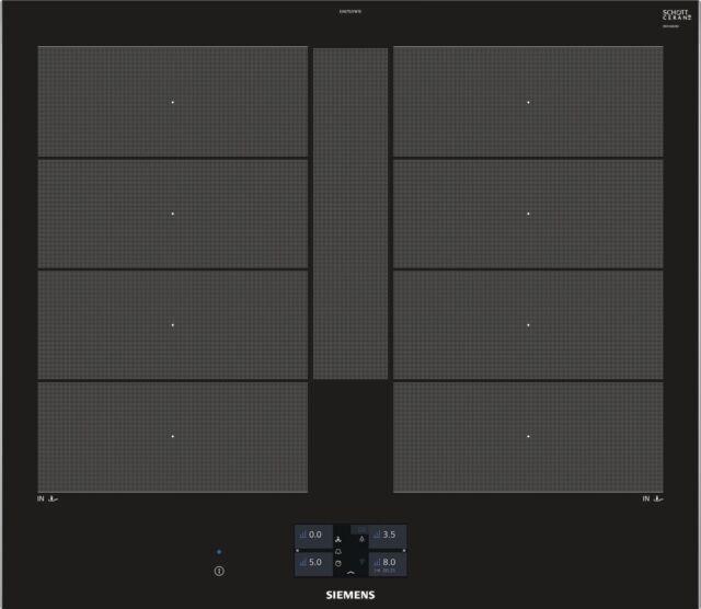 Placa de Cocción por Inducción Siemens EX675JYW1E iQ700, 60 cm, Tft-Touchdisplay