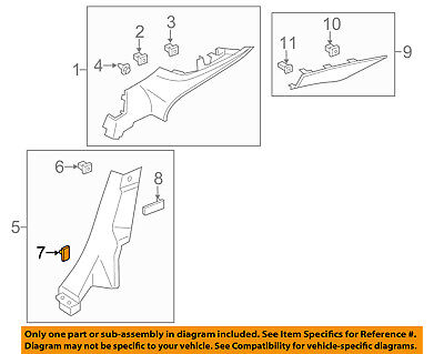 FORD OEM 05-14 Mustang Interior-Rear-Mount Bolt W710349S437