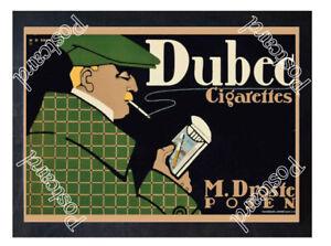 Historic-Dubec-Cigarettes-1910-Advertising-Postcard