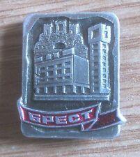 PIN BADGE, METAL & ENAMEL: BELARUS, CITY, 6spect