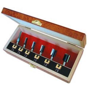 HW (HM) nutfräser set 6 piezas premium normal longitud de corte con filo de perforación