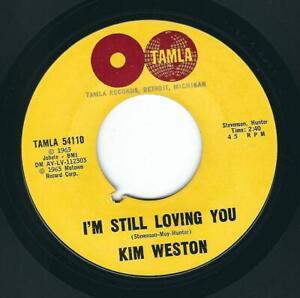 Northern Soul Kim Weston TAMLA 54110 I'm still loving you / Go ahead and laugh ♫
