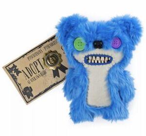 New-Spinmaster-Fuggler-Teddy-Bear-Nightmare-Blue-Ugly-Monster-Rare-5