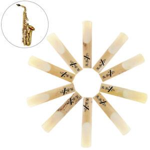 10Pcs-Set-Bamboo-Tenor-Saxophone-Sax-bB-2-1-2-Strength-2-5-Reeds-Parts