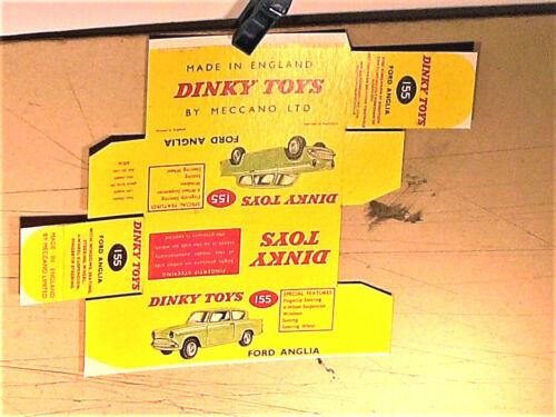 REPLIQUE BOITE FORD ANGLIA 1961  DINKY TOYS