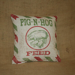 Pig-N-Hog-Feed-Decorative-Throw-Pillow-Primitives-by-Kathy