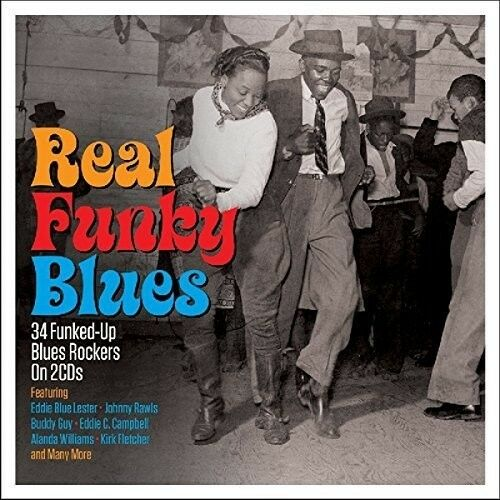 Various Artists - Real Funky Blues / Various [New CD] UK - Import