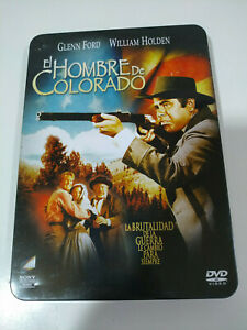 Il-hombre-de-Colorado-Man-From-Colorado-DVD-Tin-Box-Steelbook-Am