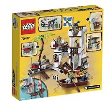 Lego Pirates Soldiers Fort 70412. Retired Lego set. New in a sealed box Age 6-12