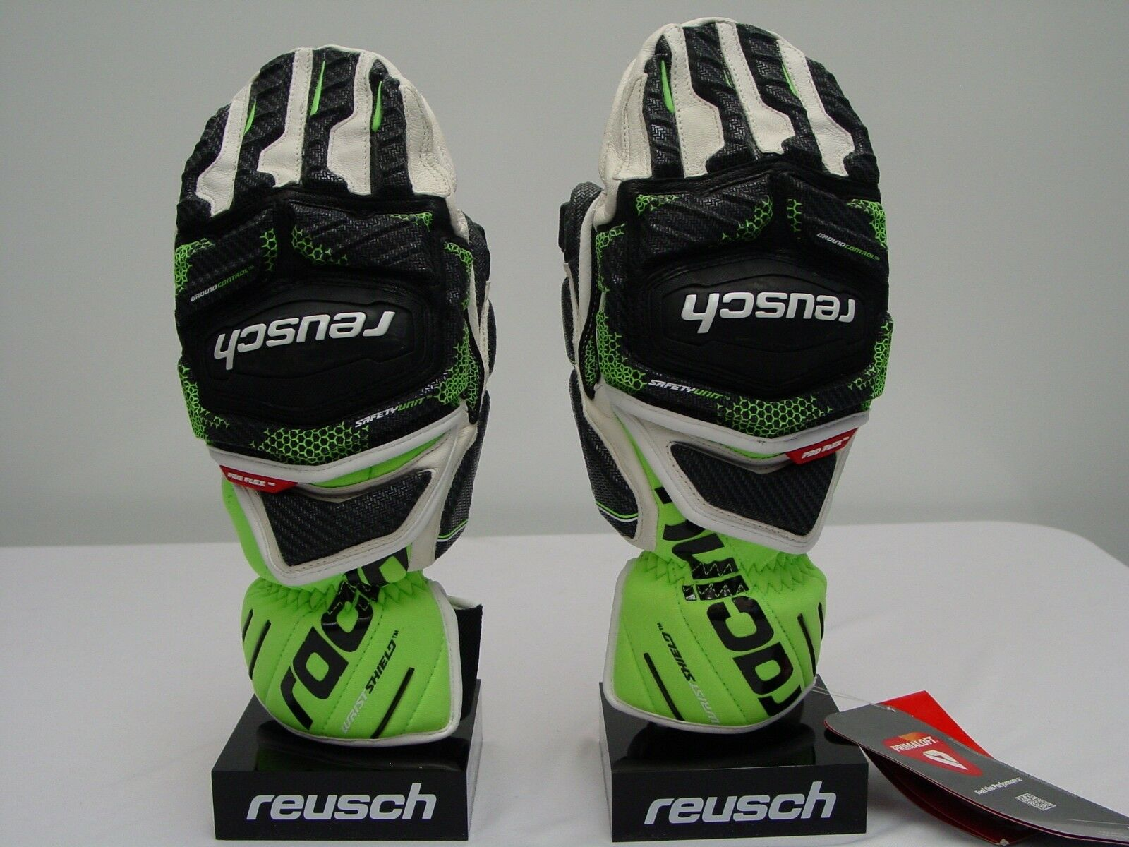 Reusch RACING ALL Leather RaceTec 16 GS Grand Slalom Ski Mittens 4611411S Small