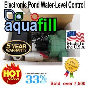 Image Is Loading Aquafill Electronic Auto Water Level Float Valve Pond