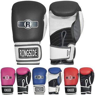 New Ringside Boxing MMA Kickboxing Black Stealth FTG4 Bag Gloves