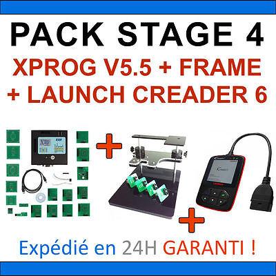 Appena ★ Diagnostic Et Programmation ★ Pack Stage 4 - Xprog Bdm Frame Launch Creader 6 I Clienti Prima Di Tutto