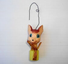 Figurine ancienne de Noel WDP disney vintage ornament Christmas Bambi : Panpan