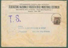 Repubblica Sociale. STAMPA del 1944 da Gallarate a Bassano del Grappa.