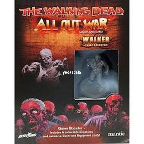 All Out War Verschiedene Booster zur Auswahl NEU OVP! EN The Walking Dead