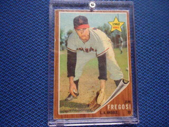 1952 TOPPS ROOKIE JIM FREGOSI L.A. ANGELS NICE