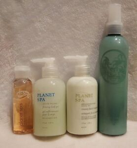 avon planet spa simply body gel cleanser hair oil lotion. Black Bedroom Furniture Sets. Home Design Ideas