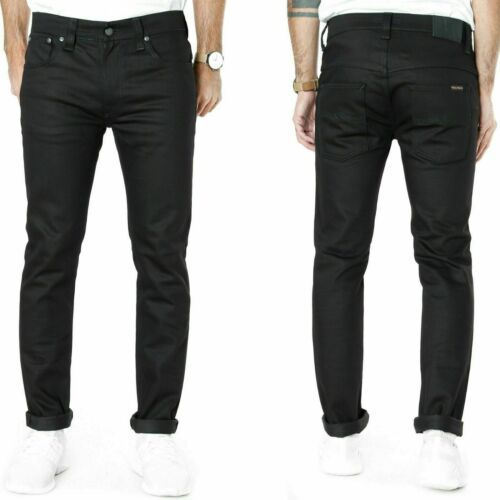 Lean Dean Nudie Mens Slim Fit Jeans Grim Tim Thin Finn Tape Ted Tilted Tor