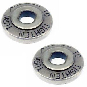 Ryobi 2 Pack Of Genuine OEM Replacement Acorn Nuts # 6112101-2PK