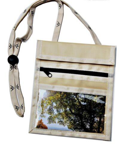 Sunwallet poitrine sac à bandoulière poitrine sac porte-monnaie Noir Beige Bleu