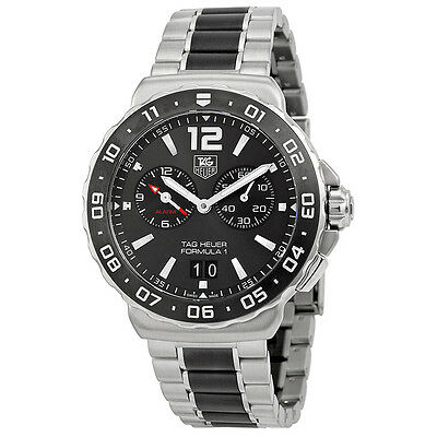Tag Heuer Formula 1 Anthracite Dial Chronograph Steel and Ceramic Mens Watch