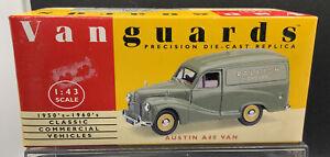 Vanguards-VA-3009-Austin-A40-Van-Raleigh-Cycles-1-43-Scale-New-in-Box