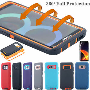 Samsung-Galaxy-S9-S8-Note-8-Hard-Case-Shockproof-Hybrid-Tough-Armor-Rugged-Cover