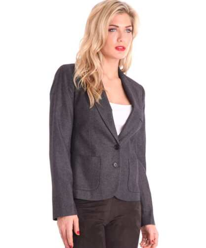 Jacket Blazer Uk8 Us4 Size Wool Connection Womens Eur36 French 826336817293 Grey wqRXIW7