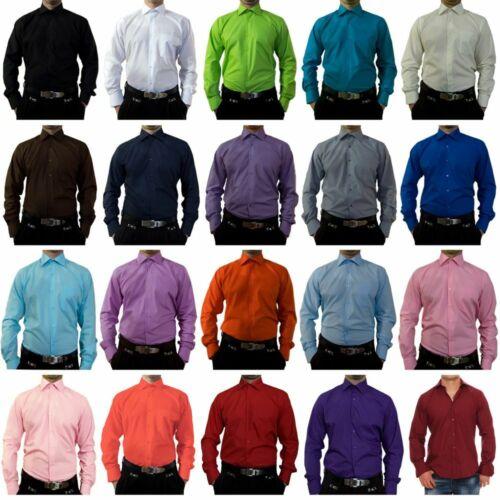 Men/'s Designer Shirts B-Stock Casual TOK11TO Collar Kent Long Sleeve Seconds