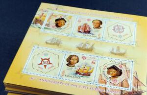 "Rumänien 2005, Blockausgabe ""Kolumbus/Santa Maria"" per 1000, (ME 25000,-)"