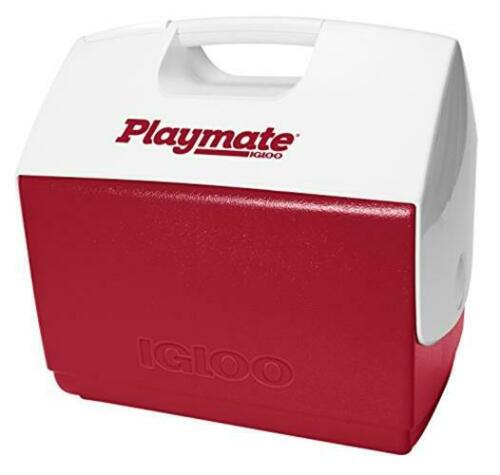 Igloo Playmate Elite 16 Qt Personal Sized Cooler Red body with white lid
