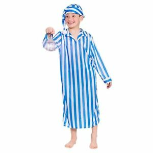 Child WEE WILLIE WINKIE Fancy Dress Costume Book Week Nursery Rhyme ... 7526c72d6001