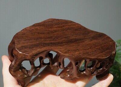 Wood Carved Root Display Rack Bonsai Pot Art Vase Statue Craft Base Decor