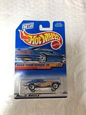 1998 Hot Wheels #728 Race Team Series IV 4//4 /'63 CORVETTE Blue w//Chrome 5 Spokes