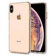 iPhone X/XS,XS MAX,XR Spigen® [Liquid Crystal] Hybrid Slim Shockproof Case Cover