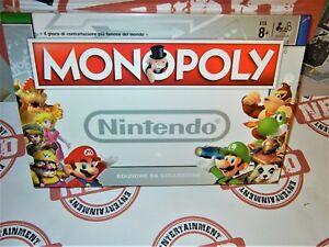 Monopoly-da-Collezione-NINTENDO-Nuovo-Edizione-e-Lingua-Italiana