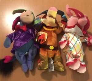 Super Soft Stuffed Animals For Babies, 3 Disney Winnie The Pooh Bean Bag Carnival Plush 8 Ebay