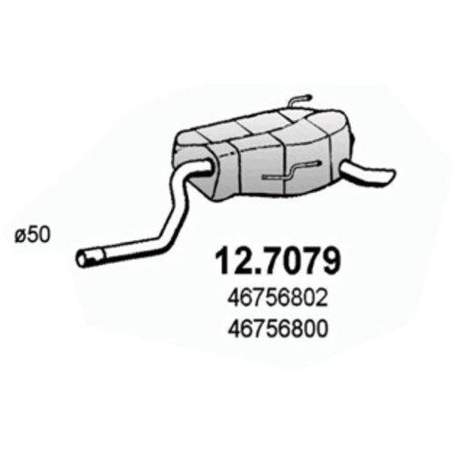 Endschalldämpfer 12.7079