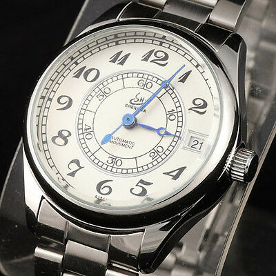 TOP 10 Popular Skeleton Automatic Mechanical Women Wrist Watch Analog Hour Alloy