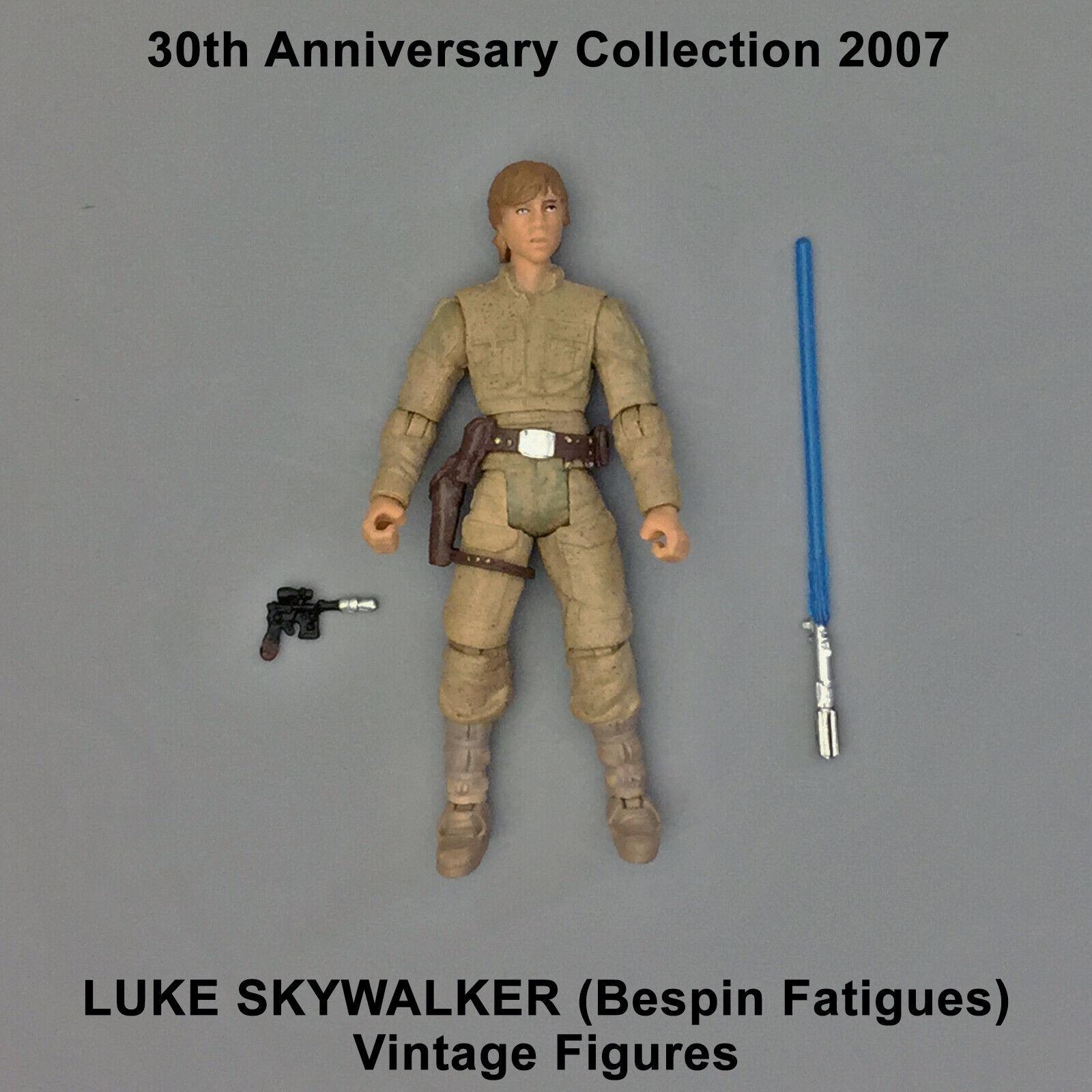 Pré-venda Coleção Retrô Star Wars Luke Skywalker Navios De Abril 30th bespin
