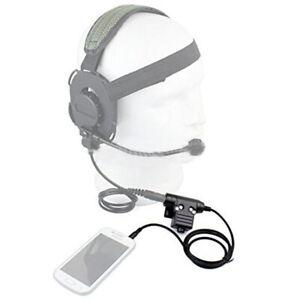High-strength-Nylon-Z-Tactical-HD03-Headset-U94-PTT-Cable-Adapter-Earphone-Kits
