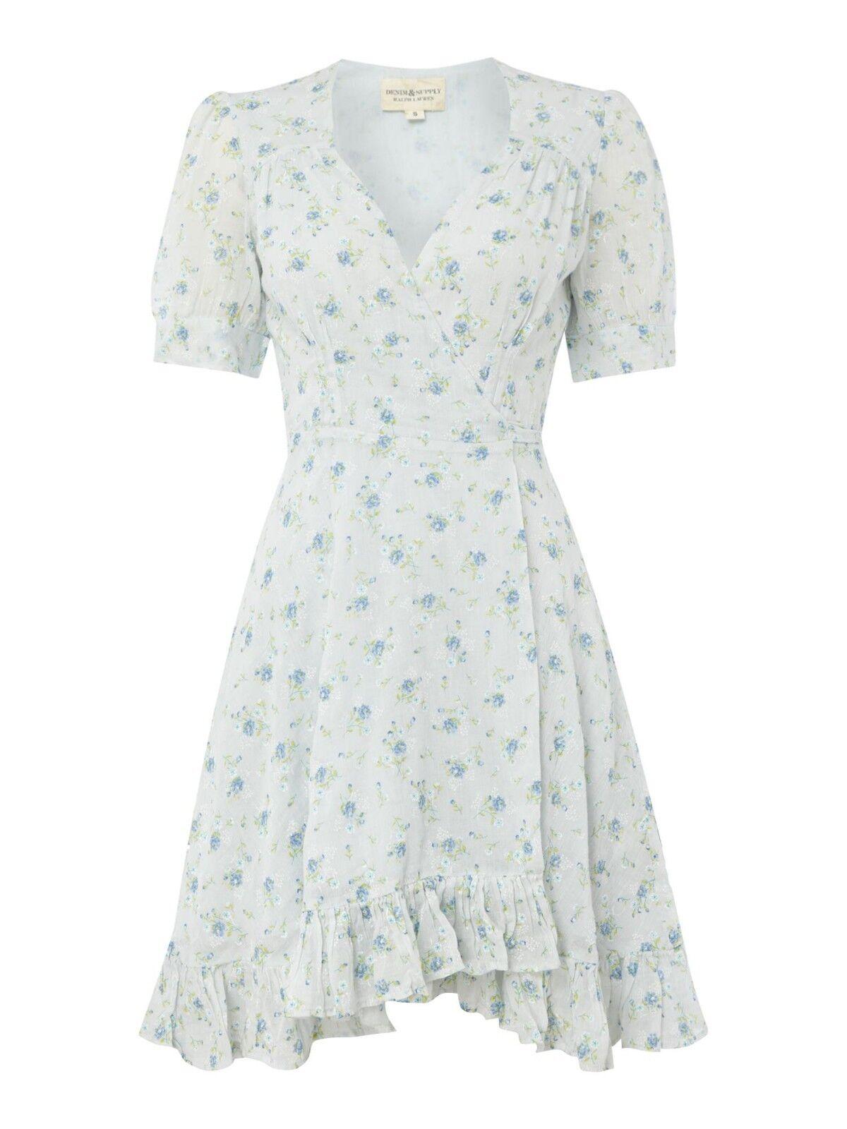 NEW Denim & Supply Ralph Lauren Floral    Wrap Dress Size XL 4f4001