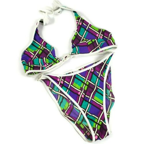 St.Tropez Bikini Swimwear 13/14 Blue Purple Psyche