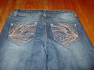 9bb3eaaa921e9 Image is loading Girls-Size-8-Mudd-Boot-Cut-Jeans-EUC