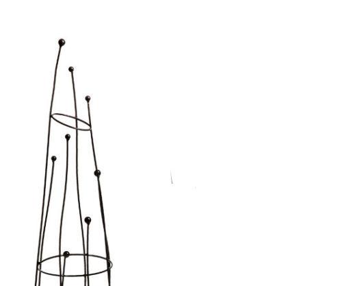 1.6m Crooked Garden Obelisk Garden Climbing  Plant Supports Frame