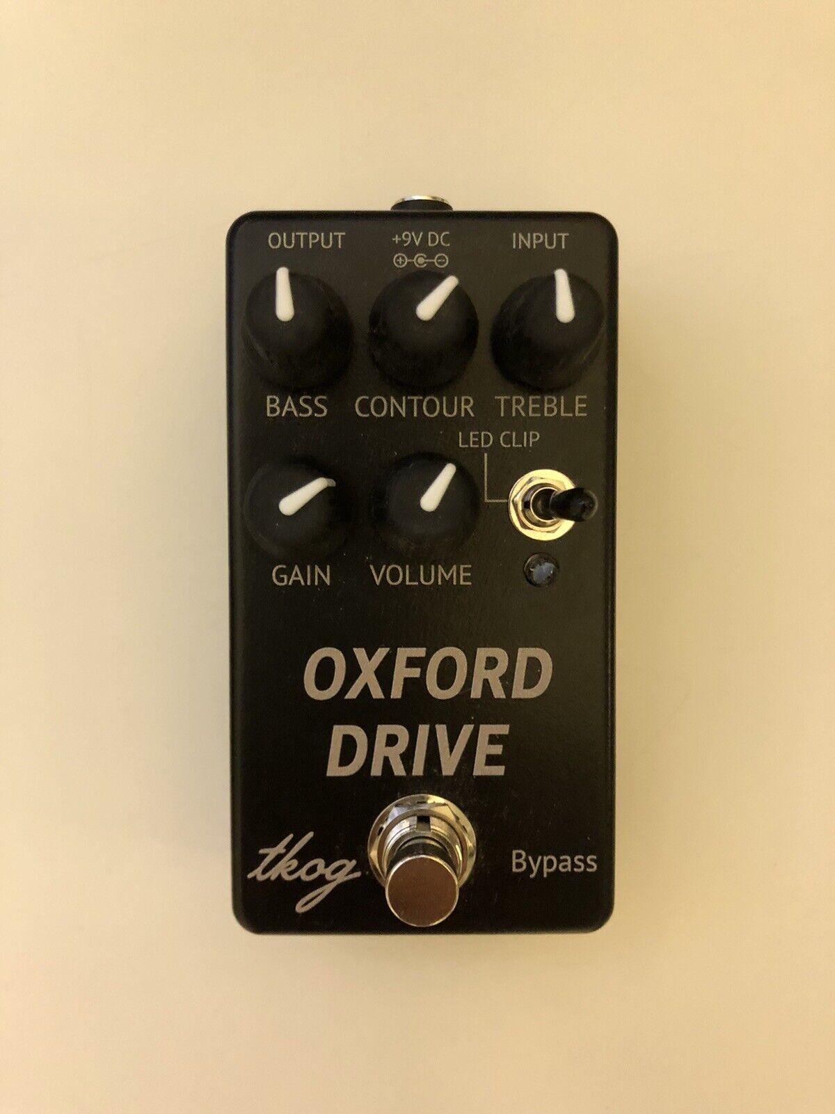 Der King of Gear Oxford Drive Guitar Effect Pedal Overdrive Verzerrung Radiohead