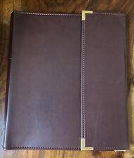 Vintage Cambridge Portfolio Binder Folder Clip Board 3 Ring Business Organizer