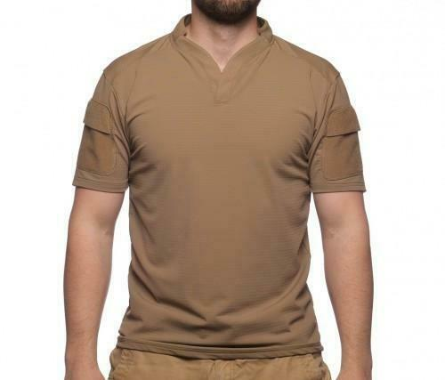 Velocity Systems Boss Rugby Shirt Tan Med