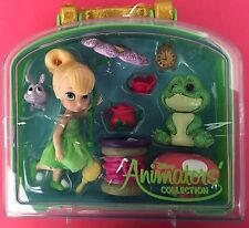 DISNEY ANIMATOR'S COLLECTION MINI DOLL PLAY SET (TINKER BELL) -NEW!